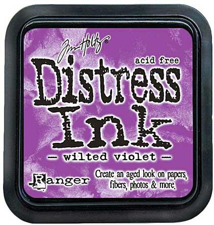 Tim Holtz Distress Ink Pad - Wilted Violet (COTM September)