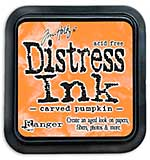 SO: Tim Holtz Distress Ink Pad - Carved Pumpkin (COTM October)