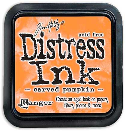 SO: Tim Holtz Distress Ink Pad - Carved Pumpkin (COTM October)