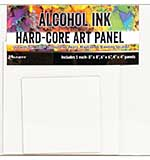 Tim Holtz Alcohol Ink Hard Core Art Panel Square (4, 6 and 8 inches)