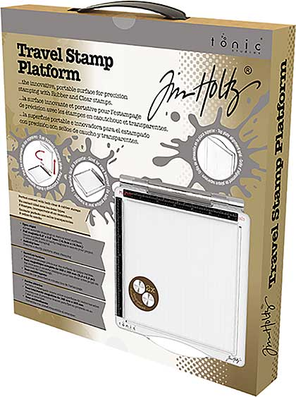 SO: Tim Holtz Travel Stamp Platform