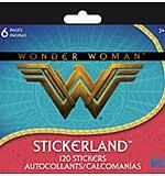 SO: DC Comics Mini Stickerland Pad - Wonder Woman (6 pages)