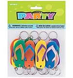 SO: Party Favors - Flip-Flop Key Chains (12pk)
