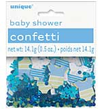 Fun Confetti Baby Shower Boy - Onesies and Baby