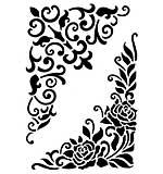 Viva Décor Flexible Stencil - Big Corner Elements