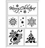 Viva Décor Flexible Stencil - Merry Christmas