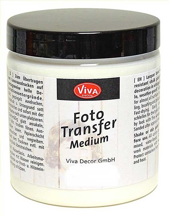 Viva Decor Photo Transfer Gel Medium, 250ml