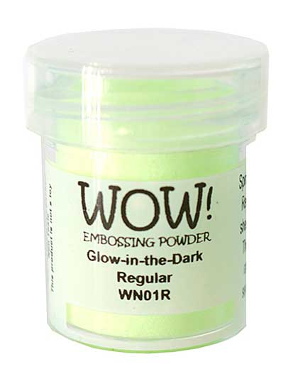 Wow! Embossing Powder - Glow in the Dark - Regular