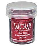 Wow! Embossing Glitters - Red Glitz - Regular