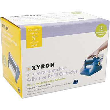 Xyron 500 Refill Cartridge - Repositionable (5x18)