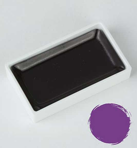 Kuretake Gansai Tambi - Purple Large Pan (Japanese Watercolour)