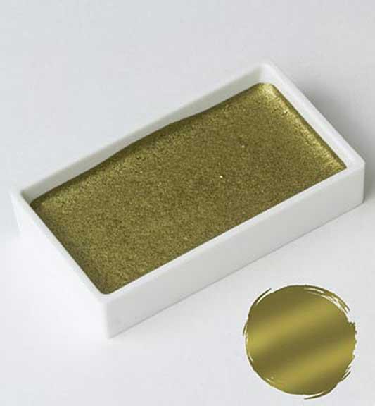 Kuretake Gansai Tambi - Blush Gold Large Pan (Japanese Watercolour)