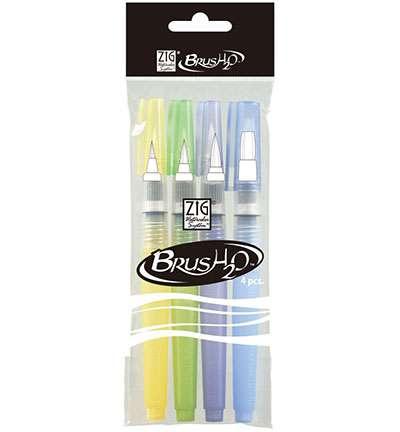 SO: Zig Waterbrush Set (4 Pens)