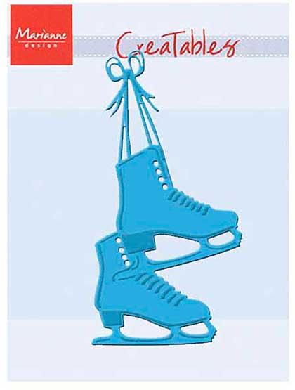 SO: Marianne Design Creatables Dies - Skates, 4.25x2.5