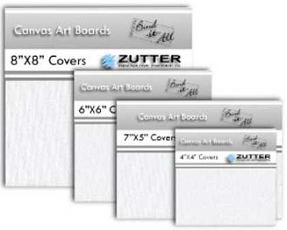Zutter - Bind It All - Canvas Art Board Covers (1 pair) - 8x8