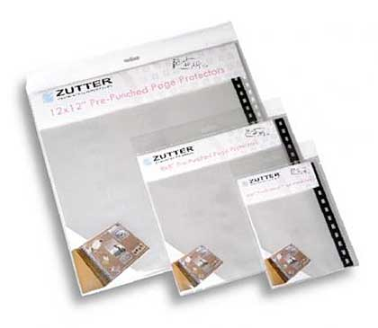Zutter - Bind It All - Pre-Punched Page Protectors 4x6