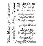 SO: Card-io - Christmas Sentiments Clear Stamp Set