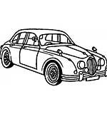Crafty Impressions - Vintage Car Clear Stamp
