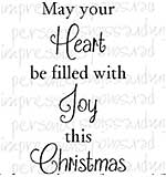 Crafty Impressions - Joy This Christmas clear stamp by sue dix