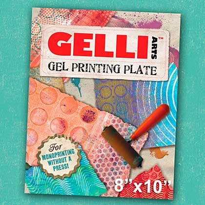 SO: Gelli Arts Gel Printing Plate - 8 x 10 inch