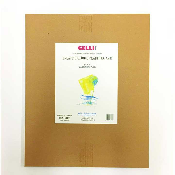 SO: Jumbo Gelli Printing Plate 16 x 20 inches
