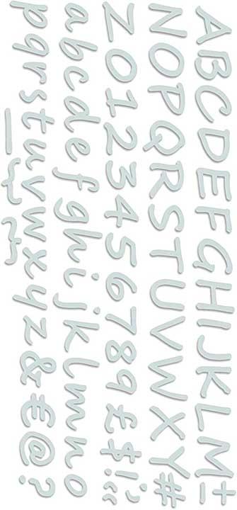 Sweet Dixie Die - Chalky Alphabet Strip