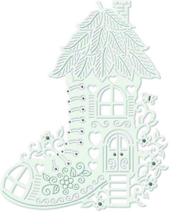 SO: Sweet Dixie Cutting Die - Fairy Boot House