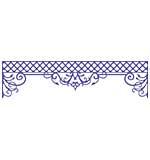 SO: Cheery Lynn Designs Dies - Lattice Valance Border