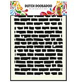 Dutch Doobadoo Mask Art stencil - Bricks (A5)