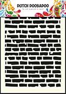 Dutch Doobadoo Mask Art stencil - Bricks (A5)