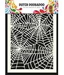 Dutch Doobadoo Mask Art stencil - Spiderweb (A5)