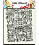 SO: Dutch Doodaboo Mask Art Stencil - Burlap (A5)