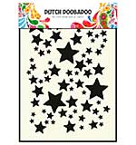 SO: Dutch Doobadoo Mask Art Stencil - Starry Sky (A5)