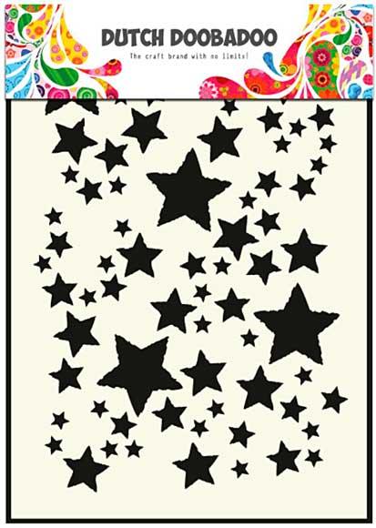 SO: Dutch Doobadoo Mask Art Stencil - Starry Sky (A5)