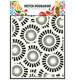 Dutch Doobadoo A5 Mask Stencil - Circles