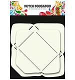 Dutch Doobadoo  2 Small Rectangle Envelope Templates