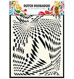 Dutch Doobadoo A5 Mask Stencil - Pop Art