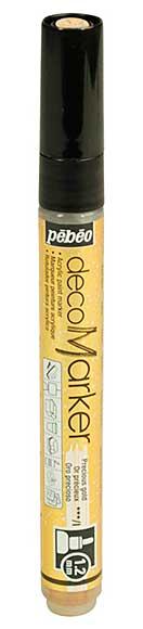 Pebeo Deco Marker - Precious Gold (1.2mm tip)