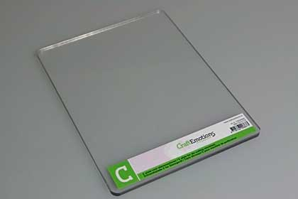 SO: CraftEmotions Cuttlebug C Plate (Replacement for die cutting machines) 5mm