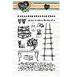 Studio Light - Love and Home Clear Stamps Set 124