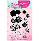 Studio Light Daisies and Leaves Layered Clear Stamps