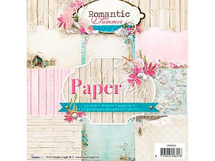 SO: Studio Light 6x6 Paper Pad - Romantic Summer Nr 35