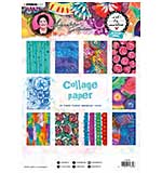 SO: Art By Marlene - Collage Paper #06, (A4, 20pk, 10 Designs, 2 each)