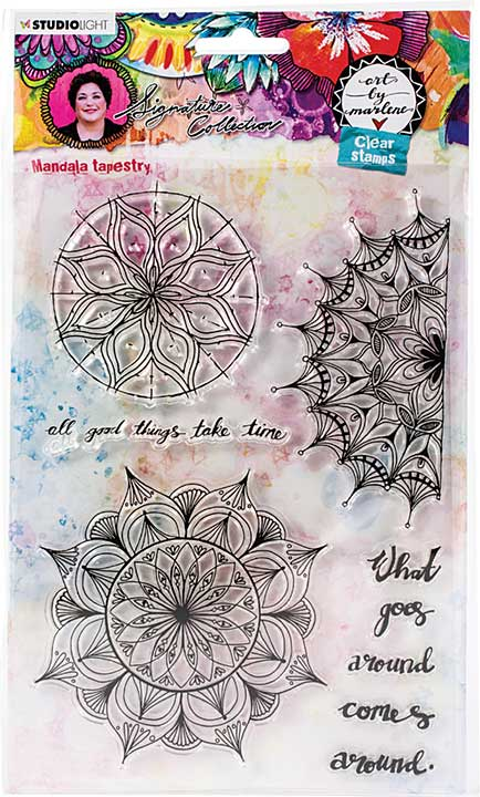 Art By Marlene - Clear Stamps #48
