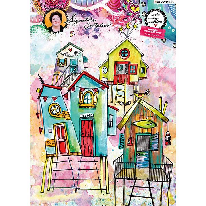 Art By Marlene - Watercolor Paper Pad A4 - 20 Sheets