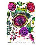 Art By Marlene - Rice Paper #07 (A4 Sheet)