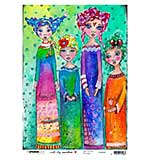 Art By Marlene - Rice Paper #09 (A4 Sheet)