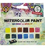 SO: Art By Marlene - Watercolor Painting Set 12pk - Whimsy and Bright (with Tray)