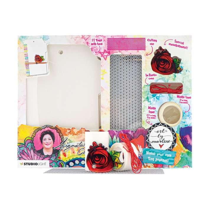 Studio Light - DIY Tag Journal - Art By Marlene 5.0 #07