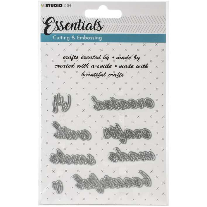 Studio Light Essentials Cutting and Embossing Die #185